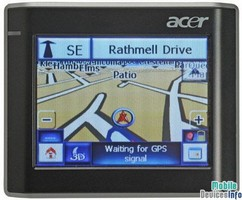 GPS navigator Acer V200