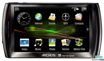 Tablet Archos 5 Internet Tablet HDS
