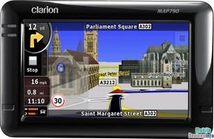 GPS navigator Clarion MAP790