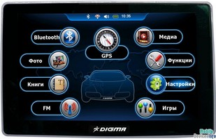 GPS navigator Digma DS507BN