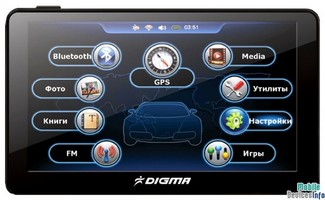 GPS navigator Digma DS701BN