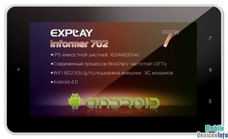 Tablet Explay Informer 702