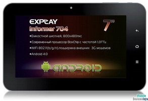 Tablet Explay Informer 704