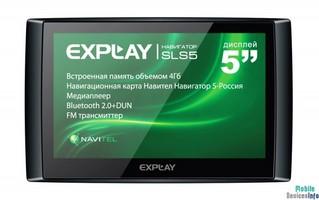 GPS navigator Explay SLS5