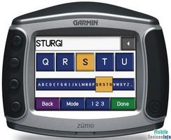 GPS navigator Garmin Zumo 550