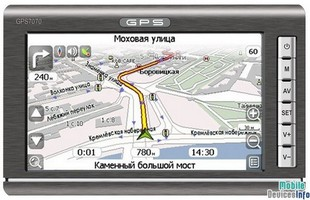 GPS navigator Global Navigation GN7070