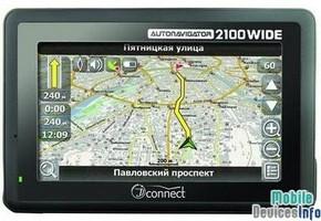GPS navigator JJ-Connect AutoNavigator 2100 Wide