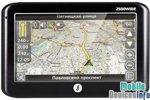 GPS navigator JJ-Connect Autonavigator 2500 WIDE