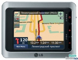 GPS navigator LG LN550