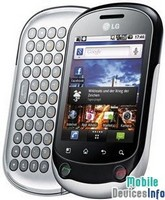 Communicator LG Optimus Chat