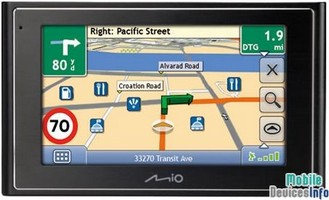 GPS navigator Mio Moov 300