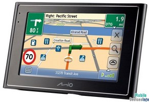 GPS navigator Mio Moov 360
