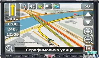 GPS navigator Mystery MDD-7770NV