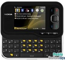 Mobile phone Nokia 6760 slide