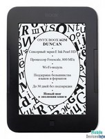 Ebook ONYX BOOX i62M Duncan