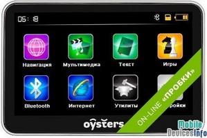 GPS navigator Oysters Chrom 1500