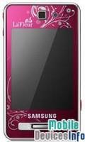 Mobile phone Samsung SGH-F480 La Fleur Touch