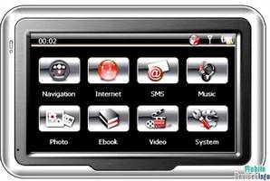 GPS navigator iSUN Digitech 4305