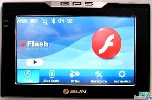 GPS navigator iSUN Digitech 4307