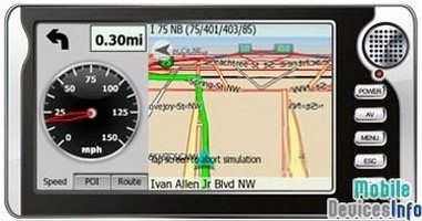 GPS navigator iSUN Digitech 7001