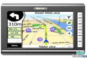 GPS navigator iSUN Digitech 7002