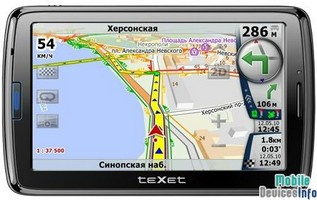 GPS navigator teXet TM-650