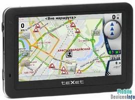 GPS navigator teXet TN-501BT