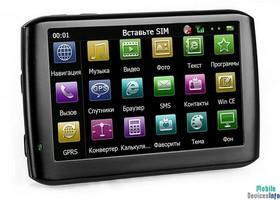 GPS navigator teXet TN-610