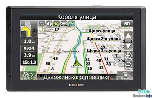 GPS navigator teXet TN-711HD BT Atlas 5