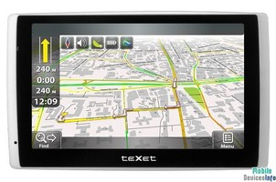 GPS navigator teXet TN-722