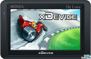 GPS navigator xDevice microMAP-Monza-DeLuxe