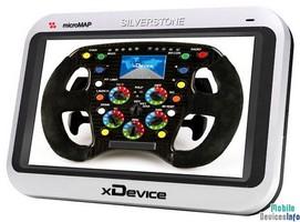 GPS navigator xDevice microMAP-SilverStone