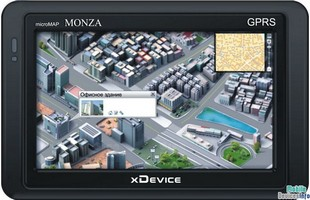 GPS navigator xDevice microMAP Monza
